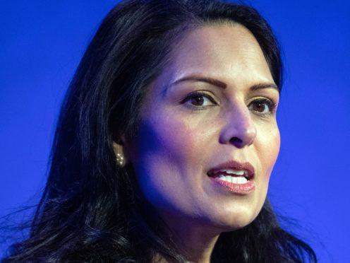 Home Secretary Priti Patel said the border policy has not failed (PA)