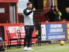 Rangers manager Steven Gerrard (Steve Welsh/PA)