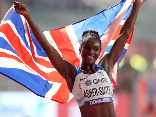 Dina Asher-Smith spearheads Team GB's challenge in the athletics at Tokyo 2020 (Martin Rickett/PA)