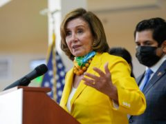 Speaker of the US House of Representatives Nancy Pelosi (Ashley Landis/AP)
