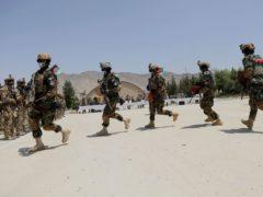 Newly Afghan Army special forces (Rahmat Gul/AP)