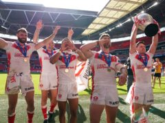St Helens have not played since winning the Betfred Challenge Cup final at Wembley (John Walton/PA)