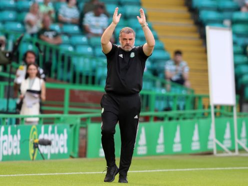 Ange Postecoglou will get some additions for Celtic's next European game (Jeff Holmes/PA)