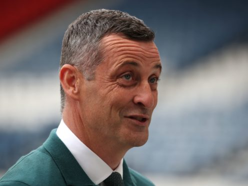 Hibernian manager Jack Ross is to add United States winger Chris Mueller to his squad (Andrew Milligan/PA)