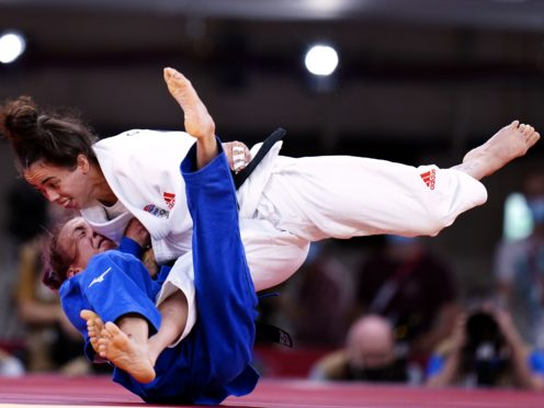 Great Britain's Chelsie Giles won the team's first medal in Tokyo (Danny Lawson/PA)