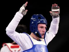 Bradly Sinden won Britain's first gold/silver in Tokyo (Mike Egerton/PA)