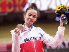 Chelsie Giles won Team GB's first medal of Tokyo 2020 (Danny Lawson/PA)