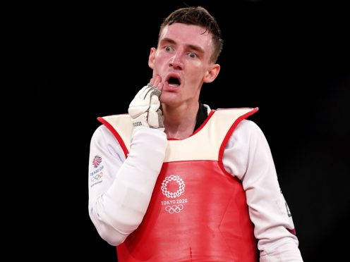 Great Britain's Bradly Sinden was left thinking what might have been despite winning a silver medal (Mike Egerton/PA)