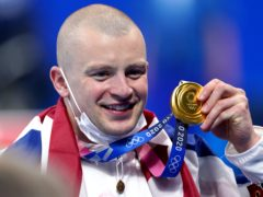 Adam Peaty won Team GB's first gold medal at Tokyo 2020 (Adam Davy/PA)