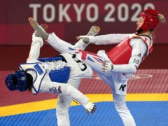 Lauren Williams has booked her place in the Olympic taekwondo final (Martin Rickett/PA)
