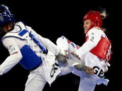 Lauren Williams, right, claimed silver on Monday (Martin Rickett/PA)