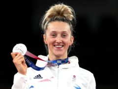 Lauren Williams won a silver medal in the women's -67kg taekwondo (Martin Rickett/PA)
