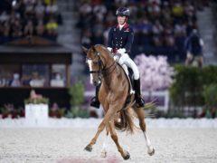 Great Britain's Charlotte Dujardin on Gio (Danny Lawson/PA)
