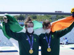 Ireland's Paul O'Donovan and Fintan McCarthy won gold on Thursday (Danny Lawson/PA)