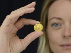 An Anglo-Saxon coin which is set to fetch up to £200,000 at auction (Dix Noonan Webb/PA)