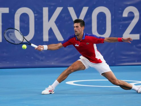 Novak Djokovic's hopes of singles gold ended with defeat by Alexander Zverev (Patrick Semansky/AP)