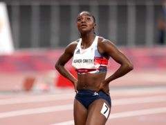 Dina Asher-Smith missed out on the 100 metres final in Tokyo (Mike Egerton/PA)