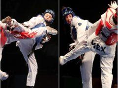 Housemates Jade Jones, left, and Bianca Walkden will go for gold in Tokyo (Martin Rickett/PA)