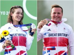 Mallory Franklin and Matt Coward-Holley won silver and bronze respectively on day six of the 2020 Games in Tokyo (PA)
