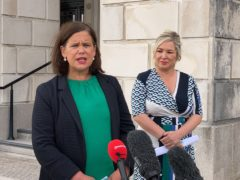 Sinn Fein president Mary-Lou McDonald (left) and deputy First Minister Michelle O'Neill (Rebecca Black/PA)