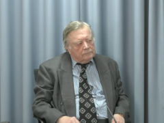 Ken Clarke at the Infected Blood Inquiry (Infected Blood Inquiry/PA)