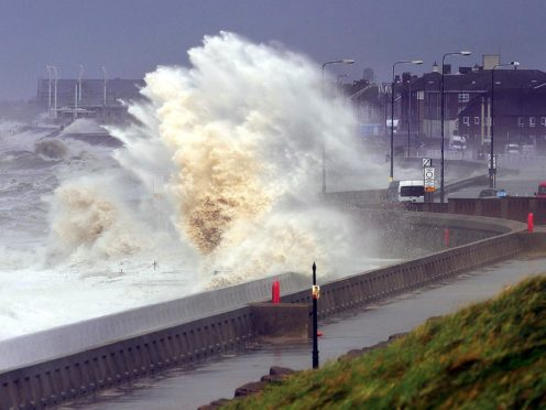 More than 10,000 suggestions were submitted to the Met Office for the list of names for the strongest weather systems to hit the UK, Ireland and the Netherlands over the coming year (John Giles/PA)