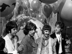 Paul McCartney, George Harrison, Ringo Starr and John Lennon (PA)