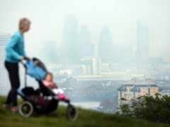 Higher levels of air pollution have been linked to a higher risk of dementia (Stefan Rousseau/PA)
