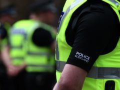 Police said a report will be submitted to the procurator fiscal (Andrew Milligan/PA)