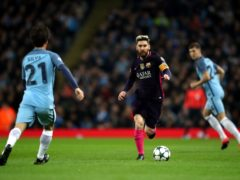 Could Lionel Messi line up for Manchester City next season? (Nick Potts/PA)