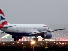 British Airways is planning to launch a subsidiary to operate short-haul flights at Gatwick Airport (Gareth Fuller/PA)