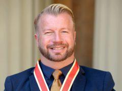 Sir Lee Pearson won gold again (John Stillwell/PA)