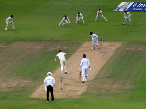 England demolished West Indies in the first ever day-night test in this country (Nick Potts/PA)