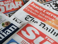 What the papers say – August 2 (Peter Byrne/PA)