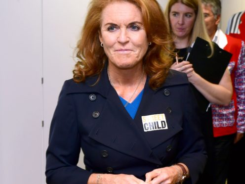 Sarah, Duchess of York, reveals she has signed a second book deal with Mills & Boon (Ian West/PA Wire)