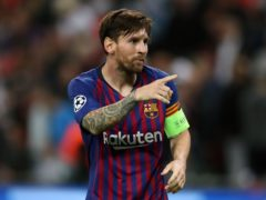 Lionel Messi is to leave Barcelona after more than 20 years (Nick Potts/PA)