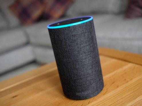 An Amazon Echo smart speaker (PA)