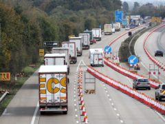 Traffic control measure Operation Brock will be allowed to be used after October under the DfT legal changes (Gareth Fuller/PA)