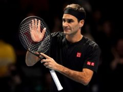 Roger Federer is set for a lengthy break from tennis (Tess Derry/PA)
