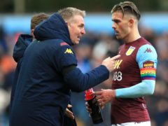 Dean Smith (left) feels Aston Villa's squad is stronger after the sale of Jack Grealish (Mike Egerton/PA)