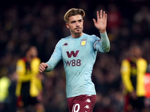 Jack Grealish is on the move (Tess Derry/PA)