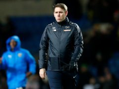 Dave Challinor was pleased with his side's win but can see areas to improve (Darren Staples/PA)