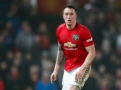 Manchester United defender Phil Jones has not played since January 2020 because of a knee injury (Martin Rickett/PA)