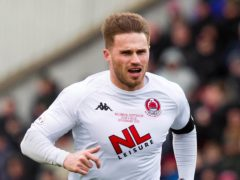 David Goodwillie scored two goals to help Clyde beat Alloa 2-1 (Jeff Holmes/PA)