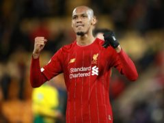 Liverpool's Fabinho has signed a new long-term contract (Adam Davy/PA)