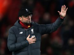Liverpool manager Jurgen Klopp spoke out about homophobic abuse of Norwich midfielder Billy Gilmour. (Peter Byrne/PA)