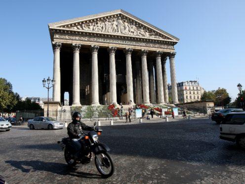 The church of Madeleine in Paris (David Jones/PA)