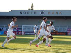 Kane Smith scored Boreham Wood's opening goal (John Walton/PA)