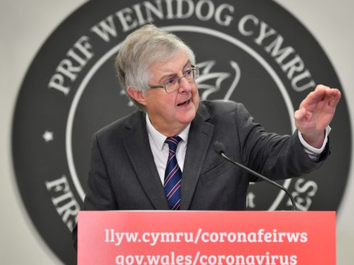 First Minister Mark Drakeford will confirm Wales is set to move to alert Level 0 (Ben Birchall/PA)