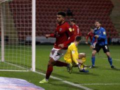 Former Crewe forward Daniel Powell scored on his debut for Barnet (Martin Rickett/PA)